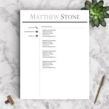 Word Resumes Templates Best 25 Resume Templates For Word Ideas On Pinterest Curriculum