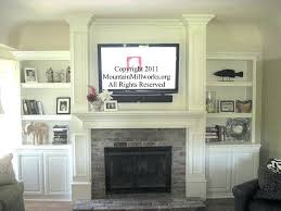 can i mount a tv over a fireplace awesome can you wall mount a over a