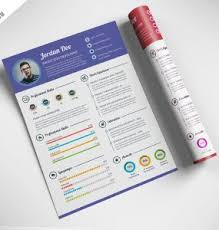 Free Infographic Resume Templates Download Free Infographic Cv Psd Download Psd