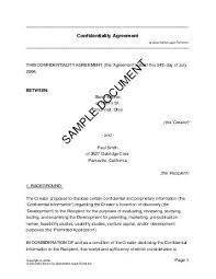 confidentiality agreement new zealand legal templates