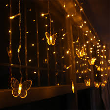 Curtain Lights Amazon by Online Get Cheap Butterfly Curtain Light Aliexpress Com Alibaba
