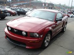 2009 Mustang Gt Black 2009 Dark Candy Apple Red Ford Mustang Gt Cs California Special