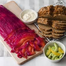make your own beetroot and gin cured salmon with sweet salty