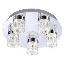Led Bathroom Ceiling Light by Paul Neuhaus Bilan 5 Led Bathroom Ceiling Light Pagazzi