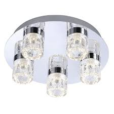 paul neuhaus bilan 5 led bathroom ceiling light pagazzi