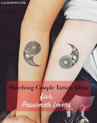 101 matching couple tattoo ideas for passionate lovers tattoo