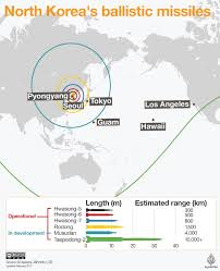 South America Map Test by North Korea U0027fails U0027 In New Missile Test South North Korea News