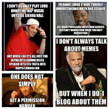I Don T Usually Meme - one does not simply write an essay about memes janise deza s e