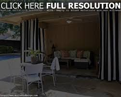 Black Outdoor Curtains Black And White Outdoor Curtains Curtain Gallery Images