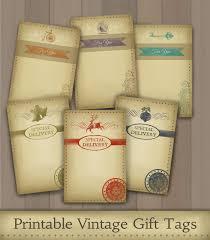 printable vintage gift tags craft ideas pinterest vintage