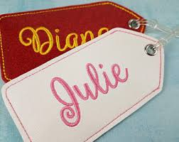 Business Card Luggage Tags Laminated Diaper Bag Tag Etsy