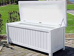 Diy Wooden Storage Bench by White Storage Bench Hinge Assembly Required Marine Quality