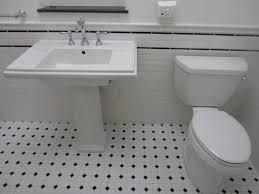 hexagon tile bathroom floor the gold smith