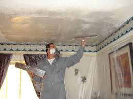 Asbestos Popcorn Ceiling by Popcorn Removal Retexturing Fort Worth Nortex Painting