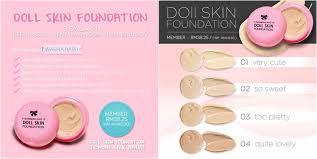 Bedak Skin Malaysia review sendayu tinggi doll skin foundation ieyra h