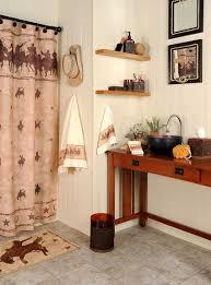 Western Drapery Fabric Western Bathroom Shower Curtains Brightpulse Us