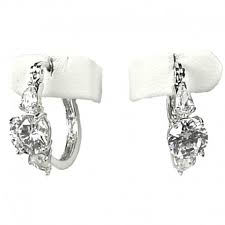 creole earrings clear diamante small hoop creole earrings costume jewellery tiny hoops