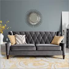 barrister blue velvet crystal button tufted sofa sofas home