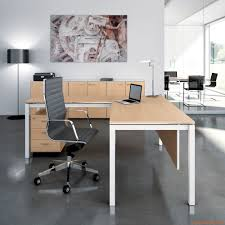 Steel Frame Desk Office X4 02 L Shaped Desk For Office With Metal Frame And