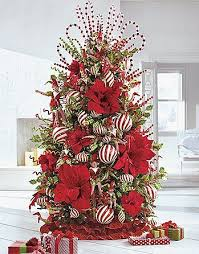 Tabletop Christmas Tree Decorating Ideas by Christmas Collections Christmas Tree Collections Grandin Road