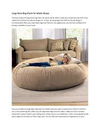incredible facts about large bean bag chairs for adults