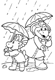 coloring barney coloring pages 18761 bestofcoloring