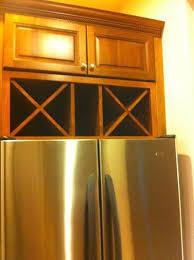 wine rack cabinet over refrigerator over fridge wine storage cabinet space in center for upright