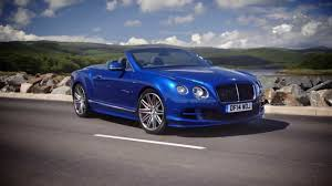 2015 bentley continental gt speed convertible sequin blue youtube