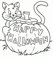 jack o lantern coloring pages happy halloween coloringstar