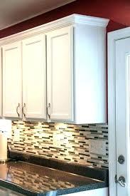 kitchen cabinet base molding kitchen cabinet base molding above cabinet molding how install