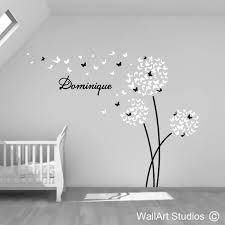 butterfly dandelions vinyl wall sticker wall studios sa