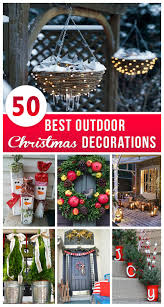 Cheap Outdoor Christmas Decorations by 50 Best Outdoor Christmas Decorations For 2017
