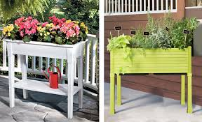 Balcony Planter Box by Stunning Raised Garden Containers Raised Planter Box With Lattice
