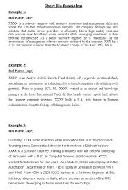 45 free biography templates u0026 examples personal professional