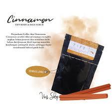Scrub Tiff tiff cinnamon coffee scrub shopee indonesia