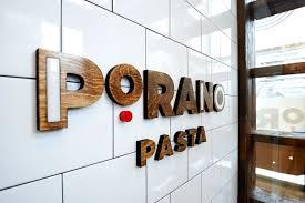 Interior Design Magazine Logo Porano Pasta Restaurant Branding And Web Design