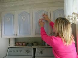 maison decor cottage washroom cabinet appliques