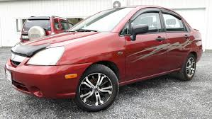 used 2003 suzuki aerio glx 4dr sedan 5sp in grand falls used