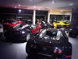 ferrari showroom nice showroom selection lamborghini aventador vs bugatti veyron