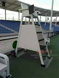luxury tennis umpire chair court umpire chairs full aluminum alloy material tennis court special referee chair