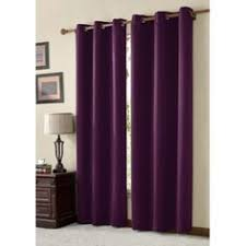 Blackout Purple Curtains Purple Bedroom Window Curtains The House A Home
