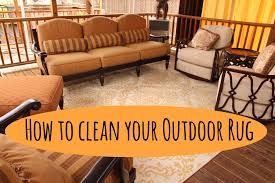Orange Outdoor Rug by How To Clean Your Outdoor Rug Patio Restoration And Repair
