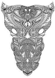 tattoo tribal chest tribal chest complete by tomnight on deviantart