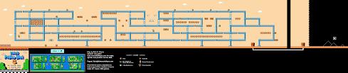 Super Mario World Level Maps by Mario Brothers 3 World 7 9 Nintendo Nes Map