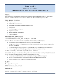 Branding Statement Resume Examples by Lead Graphic Designer Resume Example Digital Media Video