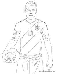 lukas podolski german football player coloring pages hellokids com