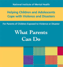 nimh helping children and adolescents cope with violence and