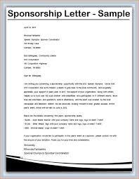 Baseball Resume Template Sports Sponsorship Letter Sample Sports Sponsorship Letter 6