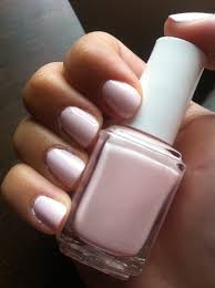 white pink nail polish how you can do it at home pictures
