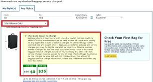 united excess baggage fees air canada baggage receipt air deplaning in air canada excess